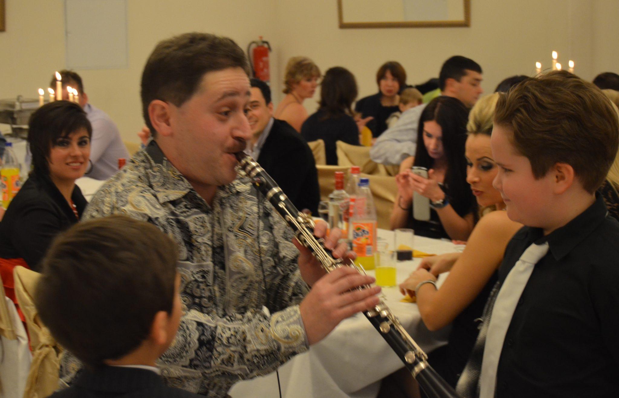 Klarinette – für Ihre Feier -