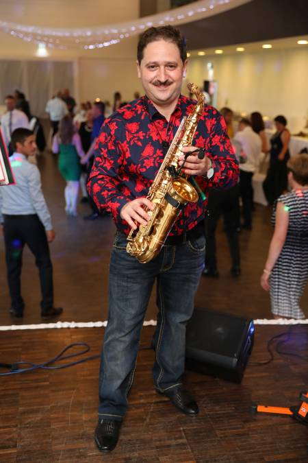 Saxophonspieler für Ihr erstklassiges Event -